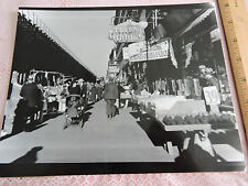 1936 2 Av EL from E. 76 St. YORKVILLE GERMAN in New York City Photo 8x10 reprint