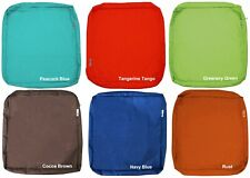 """Outdoor 4 Pack Deep Seat Chair Patio Cushions Zipper Cover 24""""X22""""X4"""" 6 Color XL"""