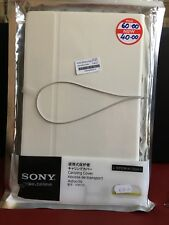 Genuine Leather case for Xperia tablet S Real Leather White