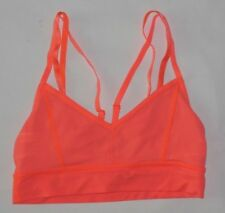 LULULEMON FLIP YOUR DOG BRA LIGHT FLARE YOGA PILATES DANCE RUNNING GYM EUC sz 6