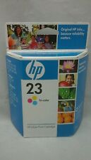 HP Inkjet Print Cartridge 23 Tri Color 1.01 Fl Oz New Puerto Rico March 2009