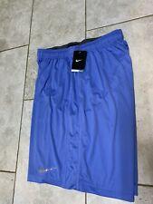 Nike Dri-Fit Blue Basketball Shorts Mens Xxl New With Tag Light Blue Unc