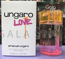 EMANUEL UNGARO LOVE EAU DE PARFUM 90ML PROFUMO DONNA SPRAY EDP DONNA