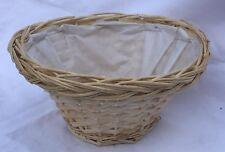 Wicker Floral/ Display  Hamper Basket- Large