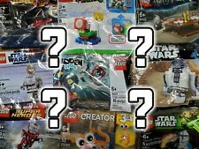 RANDOM One (1) LEGO Polybag Surprise Mystery Blind Bag New Sealed READ LISTING