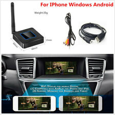 Car WiFi Display Mirror Link Adapter HDMI/AV Dongle For IPhone Windows Android