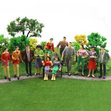 P25 12-60pcs Model Trains 1:25 Scale Painted Figures LGB G