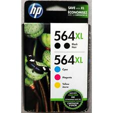 5-PACK HP GENUINE 564XL Black & Color Ink (RETAIL BOX) PHOTOSMART 5510 5515