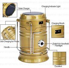 Solar/Rechargeable 6-W Led Light Lantern Lamp Inbuilt Mobile Usb Powe  Bank