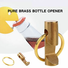 Creative Metal Beer Soda Bottle Opener With Key Ring Keychain Drink Bar Tool New