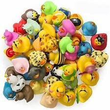 Bath Toys Rubber Ducks -50 Assorted Pieces-2 Inch For Kids, Party Favors, Gift,
