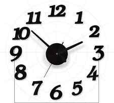 3D Wall Clocks Modern Design DIY Digital Watch Wall Sticker Clocks Home Decor