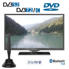 Alphatronics SL-22 DSBI+ Smart LED TV mit 55cm, Triple Tuner, DVD Player 12/230V