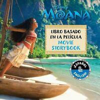 Moana libro basado en la pelicula/ Moana Movie Storybook, Paperback by Golden...