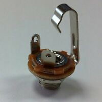1/4 INCH JACK -Mono- Open Circuit   (Same as Switchcraft #11)( Ships from USA)