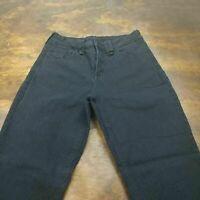Women's NYDJ Hayden Straight Leg Black Jeans Size 10 #4063B Not Your Daughter's