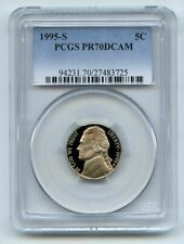 1995 S 5C Jefferson Nickel Proof PCGS PR70DCAM
