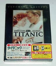 TITANIC Deluxe Ultimate Edition Japan Version R-2  3 Disc DTS OOP DVD