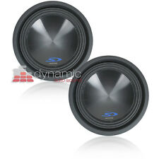 "Two (2) ALPINE SWS-10D2 Subs 10"" Dual 2-Ohm Type-S Car Subwoofers 3,000W New"