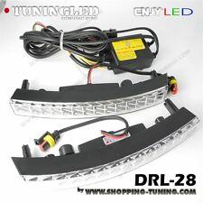 2 FEUX LED DIURNE DE JOUR + MODULE DRL-28 ALLUMAGE & EXTINCTION AUTOMATIQUE E4