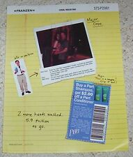 2000 advertising page - PERT hair CUTE Procter & Gamble shampoo coupon PRINT AD