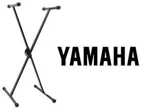 New Original Yamaha PKBS1 Single Braced Adjustable X-Style Type Keyboard Stand