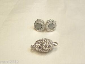 1 x Diamante Magnetic Clasp : BNDiamMag04