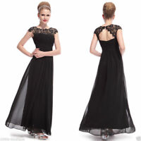 9b1e89de98 dress evening party lace uk long formal womens prom gown ball bridesmaid  ladies