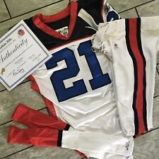 2006 NFL Reebok Buffalo Bills Game Used Worn Uniform Jersey Willis McGahee COA