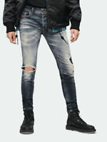 Diesel Herren Slim Skinny Fit Destroyed Stretch Jeans Sleenker 069DJ | W38 L30