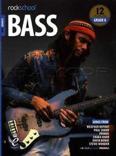 Rockschool Bass Grade 8 2018 BookAudio Paperback Book
