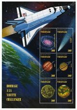 NASA Space Shuttle CHALLENGER Planets Stamp Sheet/1996 Central African Republic