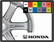 For HONDA  8 x Alloy Wheel - CAR DECAL STICKERS - 95mm long