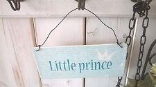 HOME KONTOR IB Laursen Blechschild Hänger Little Prince Prinz 15x7cm Landhaus