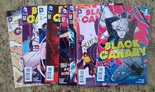Black Canary #1-9 - (High grade, 1st Printing)
