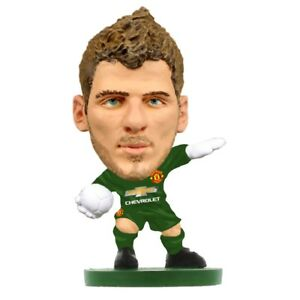 DAVID DE GEA MANCHESTER UNITED SOCCERSTARZ MINI SOCCER FIGURE