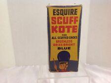 Esquire Scuff Kote Shoe Polish, Original Box, Circus Graphics, 1950's