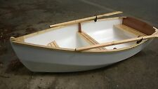DIY Plans for RYE BAY 228 Rowing/Motor/Sailing Dinghy - full printed plans