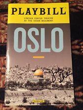 Jennifer Ehle Signed Oslo Playbill