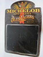 Vintage Large 90s Michelob Specialty Beer Tin Sign Brown Bar Pub Man Cave Chalk