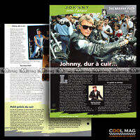 #jh026.08 ★ JOHNNY : CUIR ET PERFECTO ★ Fiche JOHNNY HALLYDAY