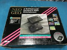 NEO GEO AES Console System SNK Boxed JAPAN Ref# 163204 US Seller