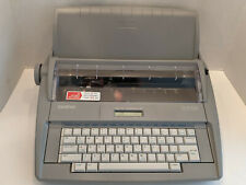 Brother Sx 4000 Daisy Wheel Electronic Dictionary Portable Typewriter Tested