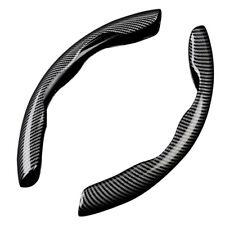 Carbon Fiber Look Universal Car Steering Wheel Booster Cover Non Slip Accessory Fits Suzuki Equator