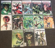 Green Lantern Emerald Warriors  1,2,3,4,5,6,7,8,9,10,11,12,13 2010 DC Set lot nm