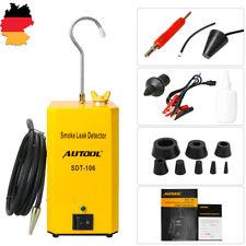 AUTOOL SDT106 KFZ Benzin Rohr Kühlbehälter Öl EVAP Rauch GASLECKSUCHER Detektor