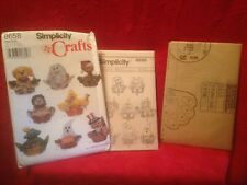 1999 Simplicity Crafts Pattern #8658 Holiday Baskets Christmas Halloween Uncut