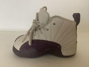 Nike Air Jordan Retro XII 12 Desert Sand Purple Sand 819666-001 Toddler Size 5C