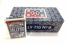 TALLY HO #9 Playing Cards 2 cases x 12 dk Fan Back Original (24 Decks)