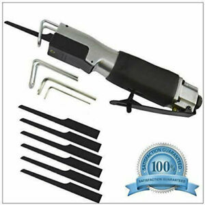 Air Body Saw High Speed Reciprocating Air Cut-off Tool Metal Saw With 6 Blades